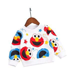 New Autumn Brand Baby Girls Boys T-shirts Kids Spring Clothes Child T-shirt Rabbit Print Clothing Costume Tops Tees Long Sleeve Y200704