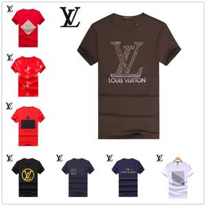 22 STYLE Buscar Diseñador de Moda para Hombre Similar Camisetas Moda Ropa de Hombre 2019 Verano Streetwear Marca Camiseta Hombre y Mujer Camisetas de Lujo Top M-3XL