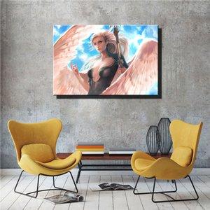 Mercy Posterler 1-1, HD Tuval Baskı Yeni Ev Dekorasyon Sanat Resim / Çerçevesiz / Çerçeveli