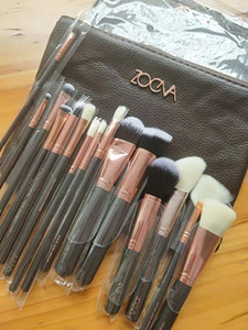 Hot Sale Brush 15pcs Set Professional Makeup Brush Set Eyeshadow Eyeliner Blending Pencil Cosmetics Tools With Bag