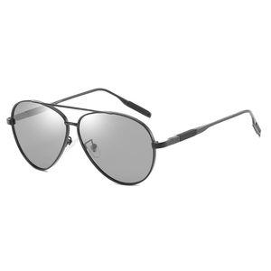 Die polarisierten Farbwechsel-Sonnenbrillen der neuen Männer Markendesigner-Sonnenbrillen der High-End-Sonnenbrillen für Herren, die UV-Schutzbrillen beschichten