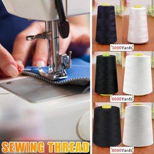 Бытовая швейная нить Наборы Пагода Пропустите 3000/6000/8000 Yards Ручная вышивка Шитье Швейные машины Аксессуары Инструменты L515