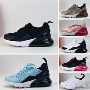 Nike Air Max 270 Kids 2018 Nouveau Chaussures de course Run infantile Chaussure de sport pour enfants outdoor luxry Tennis huaraches Trainers Kid Sneakers