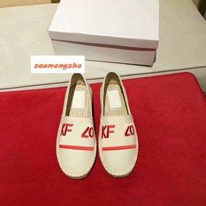 Novos amantes sapatos com sapatos de palha Tiger única cabeça sapatos bordados