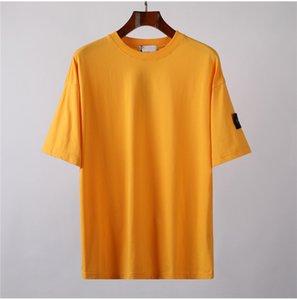 CP topstoney PIRATA COMPANY konng gonng New crachá de verão de manga curta moda casual solta simples T-shirt básica