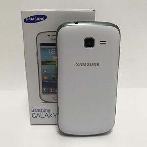 Recuperado Original Samsung GALAXY Tendência Duos II S7572 4.0 polegadas Dual telefones celulares Núcleo Android 4.1 3G Dual Sim Desbloqueado