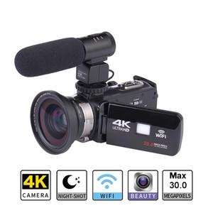 العمل الأصلي كاميرا فائقة HD 4K واي فاي التحكم عن بعد الرياضة كاميرا فيديو DVR DV العودة للماء برو