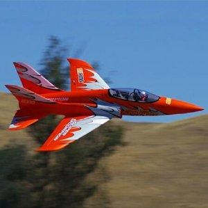 FMS 90mm Super Scorpion canalizzato Fan EDF Jet 6S 7CH con alette Retracts EPO ad alta velocità PNP RC Modello hobby dei velivoli