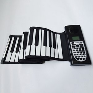 Électrique Roll Up Piano portable pliable 61 touches Electronic Music Piano Clavier