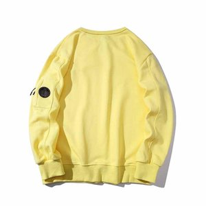 20ssDesigner brand stones tide brand round neck sweater islands fashion wild trendy comfortable high quality pullover black and white yello