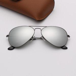 mens occhiali da sole pilota stilista occhiali da sole Donna Marca Sun Glasses Eyeware des lunettes de soleil Ladies Beach UV Protection Occhiali