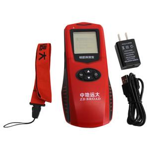 Nuevo Detector de acero económico del escáner de barras de refuerzo Posicionamiento de barras de refuerzo ZD322