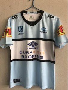 Top Thai qualité 2021 requin adulte Rugby Jersey shirt Maillot T-shirt Maglia Tops S-3XL Trikot Camisas .fast expédition.
