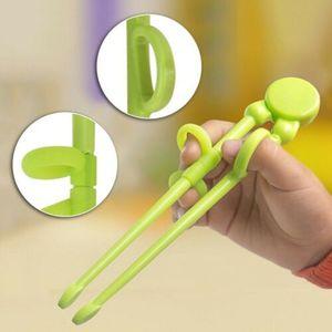 PP+silicone Children Practical Training Chopsticks Kids Beginner Learning Helper Eating Tool