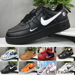 Bargain sale One 1 Dunk Men Women Flyline Running Shoes,Sports Skateboarding Ones Shoes High Low Cut White Black Outdoor Trainers Sneakers A