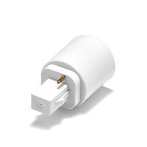 Freeshipping 100pcs G24 a E27 Adaptador de Suporte da lâmpada Converter G24 para Bulb E26 Base de tomada de luz LED Estender Power Adapter