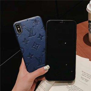 iphone için baskı paterni vakası 11 Pro max xs iphone 7 8 6 6S Artı için maksimum X XR lüks vaka eğrisi kapak modelleri tasarımcı telefon kapağı