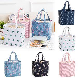 Insulated Box Mdibd Picnic Portable Women Bag Girls Cute Tote Lunch Ladies Cooler Kids Axjcv