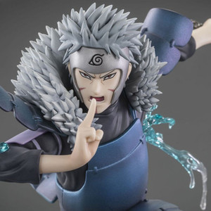19cm Anime Naruto Shippuden XTRA Shodai Hokage Senju Tobirama PVC Action Figure Collection Model Toys MX200811