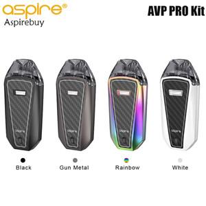 Aspire AVP Pro Kit 1200mAh Встроенный набор микросхем ASP батареи с 4мл AVP Pro Pod Cartridge Bottom Заправочная система Mesh Coil 0.65ohm Authentic