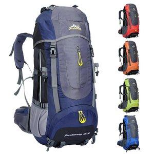 70L Outdoor Sports Bag Caminhadas viagem de acampamento Mochila Outdoor Trekking mochila Mochila Packs Camping montanhismo Bags