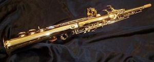 Nueva Llegada S-992 YANAGISAWA Saxofón Soprano B plano Laca Dorada Instrumentos musicales saxofón tocando YANAGISAWA Profesionalmente