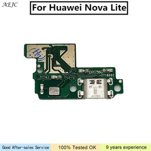 Para Huawei Nova Lite Porta USB Charger Board Flex Cable para Huawei Nova Lite Doca plugue Connector Board