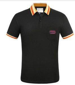 2020 brand designer high quality trend multi-color T-shirt fashion man