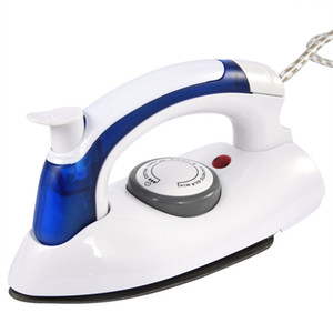 CKV-4 Hot Mini Portable Foldable Electric Steam Iron For Clothes With 3 Gears Teflon Baseplate Handheld Flatiron For Home Travelling