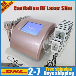 hot sale 40K ultrasonic cavitation rf laser slimming machine vacuum suction radio frequency lipo laser body slim sculpting skin tightening