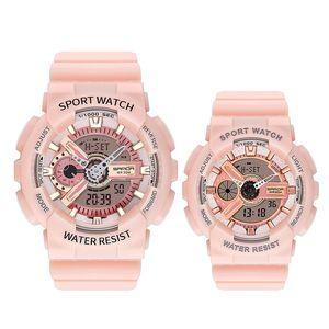 New Arrivals Zeitlich begrenzte Big Verkauf Frau Modedesigner Armbanduhr Sanda Paare Uhr 3-Grad-wasserdichte Art und Weise Uhr-freies Verschiffen
