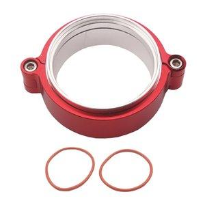 Downpipes escape 2.5 '' polegadas Universal aço inoxidável V-Band braçadeira Flange Kit Para Turbo