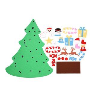 Christmas Decoration Children's Handmade Diy Christmas Tree Opp Bag Packaging Felt Cloth Material Small Ornaments