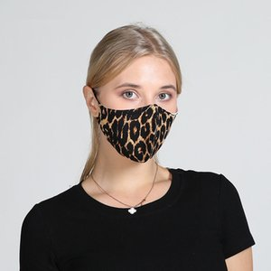 5color Floral Print Mask with breather valve Breathable Mouth Masks Anti Dust Washable Reusable Face mask cover Designer mask DHB254
