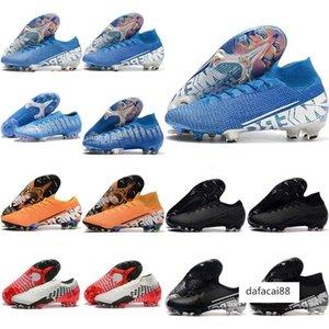2020 Superfly VI 360 Elite FG KJ 13s CR7 Ronaldo Erkek Yüksek Futbol Ayakkabı 13 Düşük Futbol Boots Kramponlar Boyut 39-45