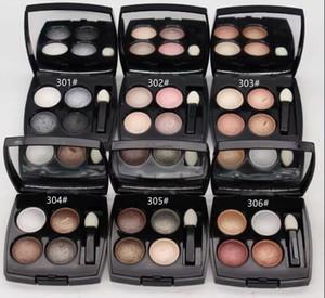 2018New Brand Makeup Eye shadow Mineralize 4 cores da paleta da sombra! 1 PCS Frete Grátis