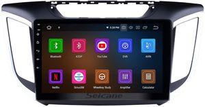 10,1 pouces Android 9.0 Car Stereo Navigation GPS pour HYUNDAI IX25 Creta 2014 2015 avec Bluetooth support USB WIFI SWC 1080p