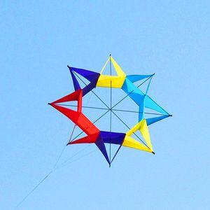free shipping new 3d kites for adults kite reel line kevlar wholesale kites factory ikite fly carp fish windsocks flamingo kite