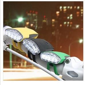 Bicicleta Faróis Silicone Frog Luz USB bonito 4LED Mountain Bike Luz de carregamento luzes de advertência Luzes da cauda Noite de equitação Segurança