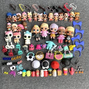 Bulk 100PCS Dolls TOY Gift Limitted Collection Dolls clothes accessroy Xmas Birthday Kids Gift Toys Wholesale