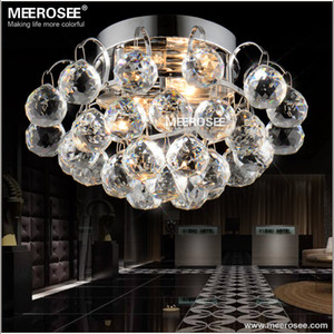 Small Crystal Ceiling Light Crystal Lustres Lamp Ceiling Lighting Fixture Stair Aisle Porch Corridor Chandelier Light Home Decoration