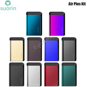 Suorin Air Plus Kit Avec 930mAh batterie intégrée 22W sortie Kit de démarrage 3.5ml Pod cartouche Capacité du réservoir MLCoil 0.7ohm / 1ohm originale