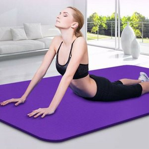 2020 New Yoga Mat 10 mm Thick Non-slip Pilates Workout Fitness Exercise Pad Gym Workout Home Yoga Mats
