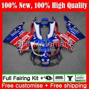 Körper für HONDA CBR 893RR CBR900RR CBR893RR 94 95 96 97 Blau Rot 71MT7 CBR 893 CBR900 CBR893 RR 1994 1995 1996 1997 Hot Fairing Bodywork