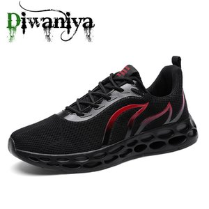 Diwaniya New Mens Shoes Sales Outdoor Men Sneakers Running Sneakers Sport Mens Trainers Running Shoes For Men 2020 Training