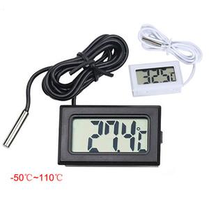 -50 à 110 thermomètre numérique mini affichage à cristaux liquides refroidisseurs de congélateur aquarium refroidisseurs instrument de sonde mini 1M