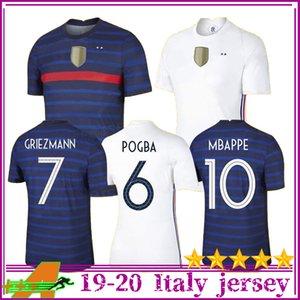 2020 France Jersey Soccer MBAPPE GRIEZMANN POGBA jerseys 2021 Soccer jersey GIROUD Football shirts maillot de foot