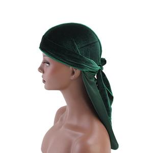 Alta calidad creativa yiwu fábrica directamente venta terciopelo durag amazon bestseller 2019 venta por mayor personalizado turbano turbante