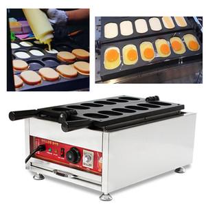 Comida de la calle Pan de huevo coreano Gyeran Bbang Maker 110v 220v Máquina eléctrica de pastel de huevo Máquina de panecillos Panadero que hace la placa