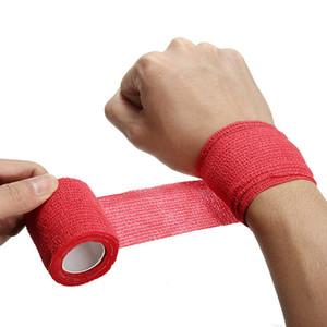 5 ألوان يمكن التخلص منها ذاتية اللصق ضمادة مرنة للتعامل مع أنبوب تشديد من الملحقات الوشم الشريط العضلات الركبة
